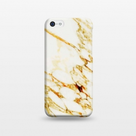 iPhone 5C  Gold Marble by Uma Prabhakar Gokhale (graphic design, other, pattern, abstract, marble, gold, metallic, shine, exotic, nature)