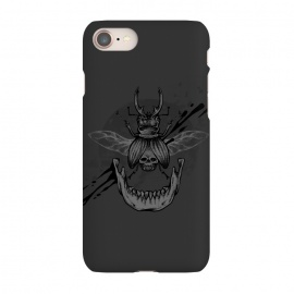 iPhone 7 SlimFit Beetle jaw by Lucas Dutra (beetle,skull,velozobas,splat,teeth,mandible)