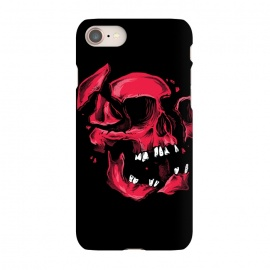 iPhone 7 SlimFit broken skull by Lucas Dutra (broken,skull,pieces,tooth,teeth)