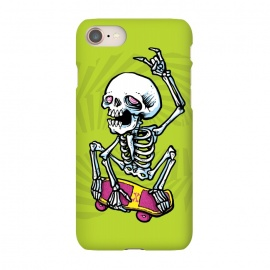 iPhone 7 SlimFit Rad! by Lucas Dutra (skate,skateboard,rad,air,colors,80s,skeleton)