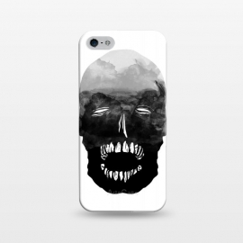 iPhone 5/5E/5s  ink by Lucas Dutra (ink,black,teeth,watercolor)