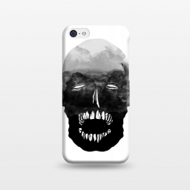 iPhone 5C  ink by Lucas Dutra (ink,black,teeth,watercolor)