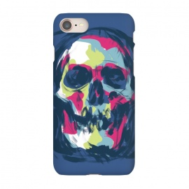 iPhone 7 SlimFit Paint by Lucas Dutra (paint,color,calavera,calaca,colorful)
