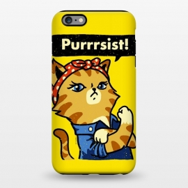iPhone 6/6s plus  Purrrsist! by Vó Maria