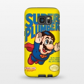 Galaxy S7  Super Plumber by Vó Maria