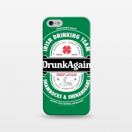 iPhone 5/5E/5s  DrunkAgain Beer Label by Vó Maria
