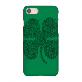 iPhone 7 SlimFit Good Luck! by Vó Maria (four,leaf,clover,shamrock,shenanigans,ireland,irish,st patrick,lucky,gold,lucky charm,leprechaun,plant,tree,flower,girl)