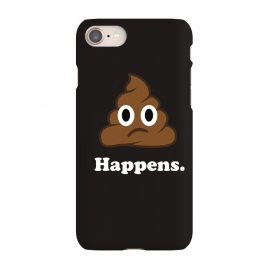 iPhone 7 SlimFit Well... Happens. by Vó Maria (shit,happens,emoticon,emoji,icon,whatsapp,smile,face,cute,character,slogan,sayings)