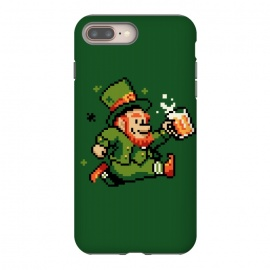 Leprechaun by Vó Maria (leprechaun,pixel,art,computer,video,game,video game,mario,super,nintendo,nostalgia,irish,shenanigans,shamrock)