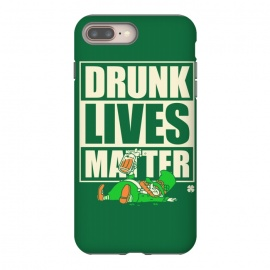 Drunk Lives Matter by Vó Maria (drunk,lives,matter,leprechaun,shenanigans,shamrock,irish,ireland,beer, label)