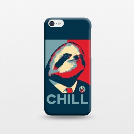 iPhone 5C  Sloth For President by Grant Stephen Shepley