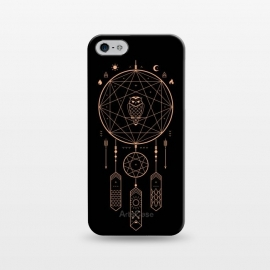 iPhone 5/5E/5s  Unity by  (dreamcatcher,owl,dream,night,stars,mountain,river,nature,outdoors,minimal,bird,birds,mystic,black,gold,sun,moon,travel,adventure,vector)