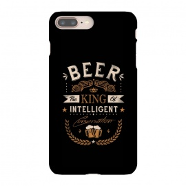 iPhone 8/7 plus  Oh Beer by  (beer,alcohol,drinking,funny,joke,parody,humour,words,text,slogan,draft,bar,pub,king)