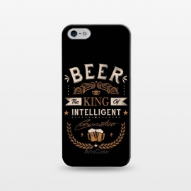 iPhone 5/5E/5s  Oh Beer by  (beer,alcohol,drinking,funny,joke,parody,humour,words,text,slogan,draft,bar,pub,king)