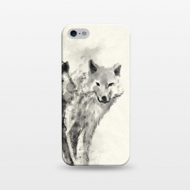 iPhone 5/5E/5s  Wild Wolf by 38 Sunsets