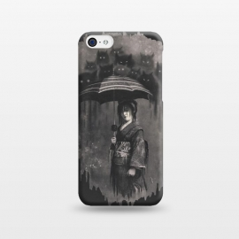 iPhone 5C  Lady Rain by 38 Sunsets