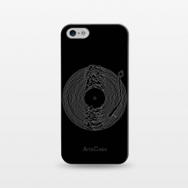 iPhone 5/5E/5s  Soundscape by Grant Stephen Shepley (music,band,bands,80's,joy division,ian curtis,song,classic,mountain,lines,black,white,vinyl,parody,LP,record)