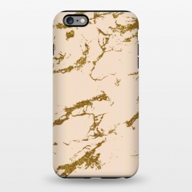 iPhone 6/6s plus  Blush & Gold Marble by Uma Prabhakar Gokhale