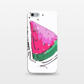 iPhone 5/5E/5s  watermelon by MUKTA LATA BARUA (watermelon,fruits,food,summer,pink,red)