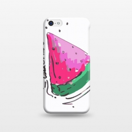 iPhone 5C  watermelon by MUKTA LATA BARUA (watermelon,fruits,food,summer,pink,red)
