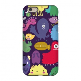 iPhone 6/6s  Colorful monsters by Maria Jose Da Luz