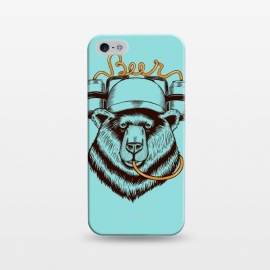 iPhone 5/5E/5s  BEAR LOVE BEER by Coffee Man