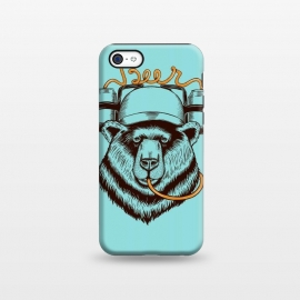 iPhone 5C  BEAR LOVE BEER by Coffee Man