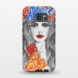Galaxy S7 EDGE  flower girl by MUKTA LATA BARUA