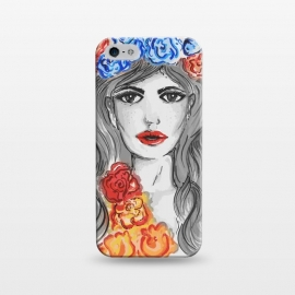 iPhone 5/5E/5s  flower girl by MUKTA LATA BARUA