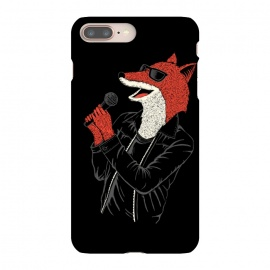 iPhone 8/7 plus  Fox by Coffee Man (fox,music,punk,rock,animal,funny,humor,wtf,sing,foxy,zorro)