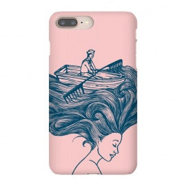 iPhone 8/7 plus  Mermaid Hair by Coffee Man (hair,boat,summer,beach,ocean,sea,navigating,sunset,vacation,spring bread,woman,lady,girl,vintage,funny,humor)