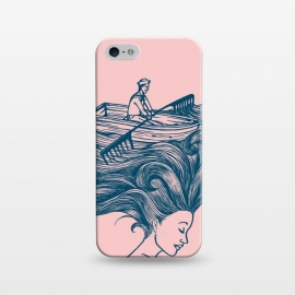 iPhone 5/5E/5s  Mermaid Hair by Coffee Man (hair,boat,summer,beach,ocean,sea,navigating,sunset,vacation,spring bread,woman,lady,girl,vintage,funny,humor)