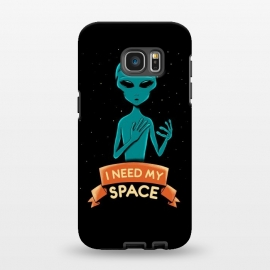 Galaxy S7 EDGE  I need my space by Coffee Man