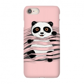 iPhone 7 SlimFit Little Panda by Coffee Man (panda, little panda,animal,nature,cute,funny,wild,adorable,pet,pet lover,pets, pets lover)