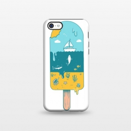 iPhone 5C  Melted Landscape by Coffee Man