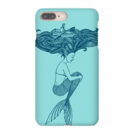 iPhone 8/7 plus  Mermaid Hairs by Coffee Man (Mermaid,little mermaid,sea,hair,ocean,beach,summer,vacation,spring break, boat,navigating,marine,sirena,funny,humor,cool,cute,surreal)