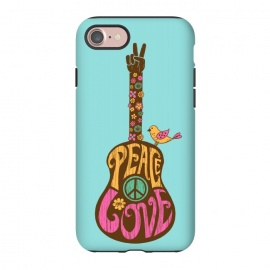 iPhone 8/7  Peace and love by Coffee Man
