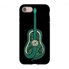 iPhone 8/7  Snake Guitar by Coffee Man