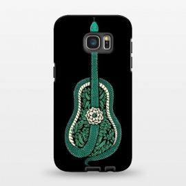 Galaxy S7 EDGE  Snake Guitar by Coffee Man