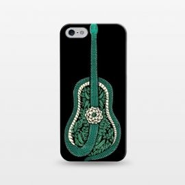 iPhone 5/5E/5s  Snake Guitar by Coffee Man