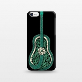 iPhone 5C  Snake Guitar by Coffee Man