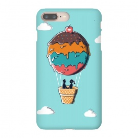 iPhone 8/7 plus  Sweet  Journey by Coffee Man (ice cream,ballon,skype,cloud,funny,melted,couple,romance,love,livers,sweet,sugar)