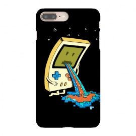 iPhone 8/7 plus  Vomit retro by Coffee Man (video game,gamer,gameboy,retro,vomit,funny,humor,vintage,pixel,gamer lover,geek,nerd,pop,pop culture,adorable,cute)