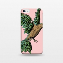 iPhone 5C  Wood Bird by Coffee Man