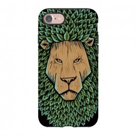 iPhone 8/7  Wood Lion by Coffee Man