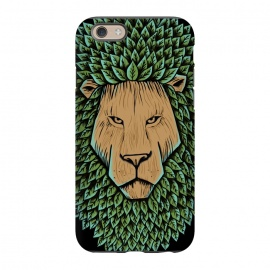 iPhone 6/6s  Wood Lion by Coffee Man