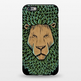 iPhone 6/6s plus  Wood Lion by Coffee Man