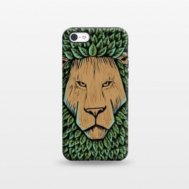 iPhone 5C  Wood Lion by Coffee Man