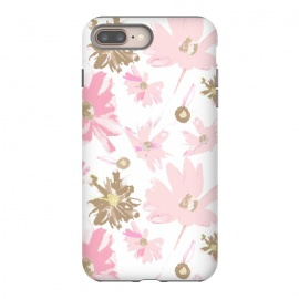 iPhone 8/7 plus  Daisy Daisy - Pink by Bettie * Blue