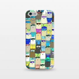 iPhone 5/5E/5s  Snow? No Prob-Llama Alpaca My Board! by Amaya Brydon (alpacas,llamas,snow,snowboarding,boarders,sport,funny,pattern,illustration,extreme)
